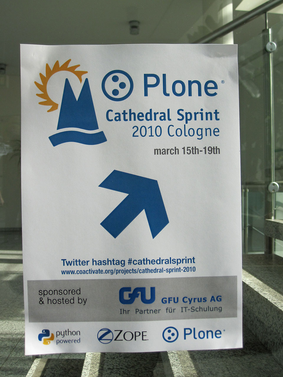 Banner Cathedral Sprint 2010