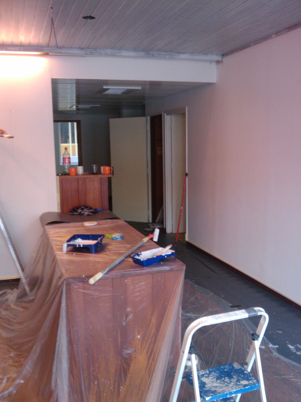 Ground Floor Reconstruction Entrance