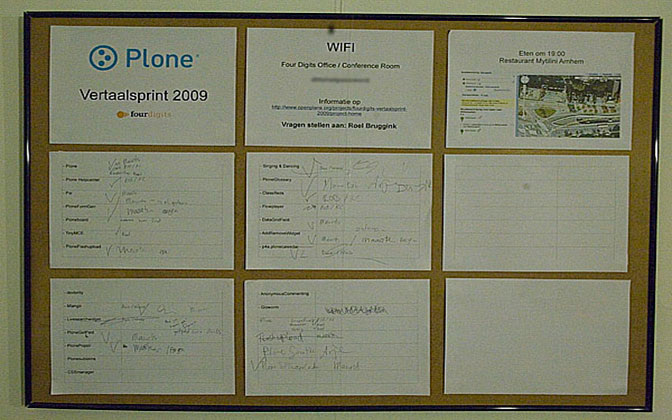 Planboard Dutch Translation Sprint